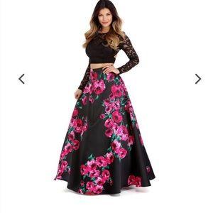 Windsor 2 piece prom dress